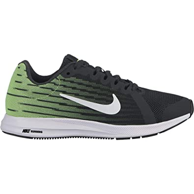 official photos af8d9 d132e Nike Boy s Downshifter 8 Anthracite White Lime Blast Black Size 3.5 ...