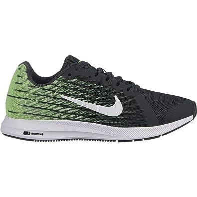 6a1bf934a2bd7 Nike Boy s Downshifter 8 Anthracite White Lime Blast Black Size 3.5 ...