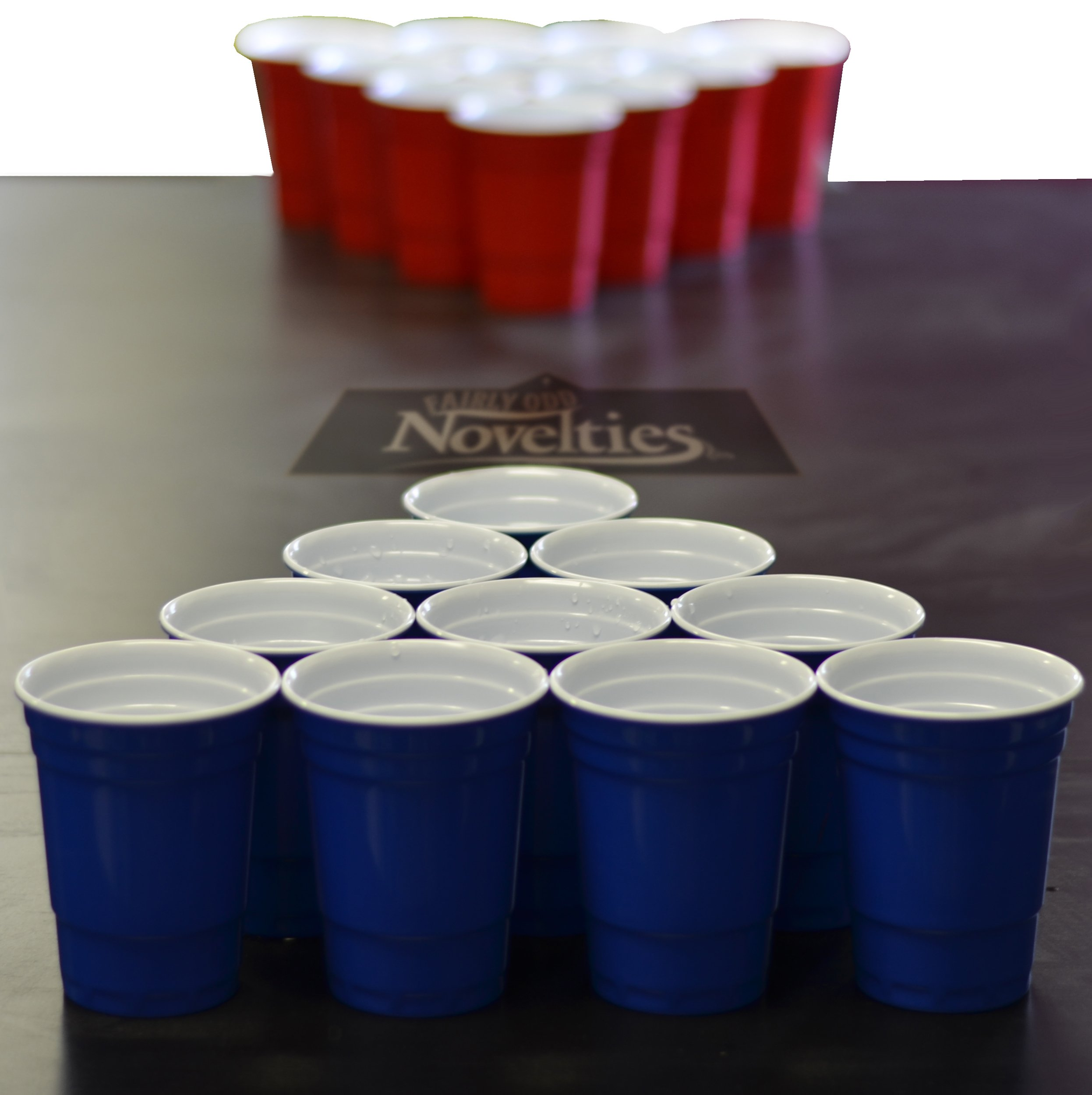 Pro Series Beer Pong Set - With Hard Plastic Melamine 20 Cups! by Fairly Odd Novelties (Image #1)