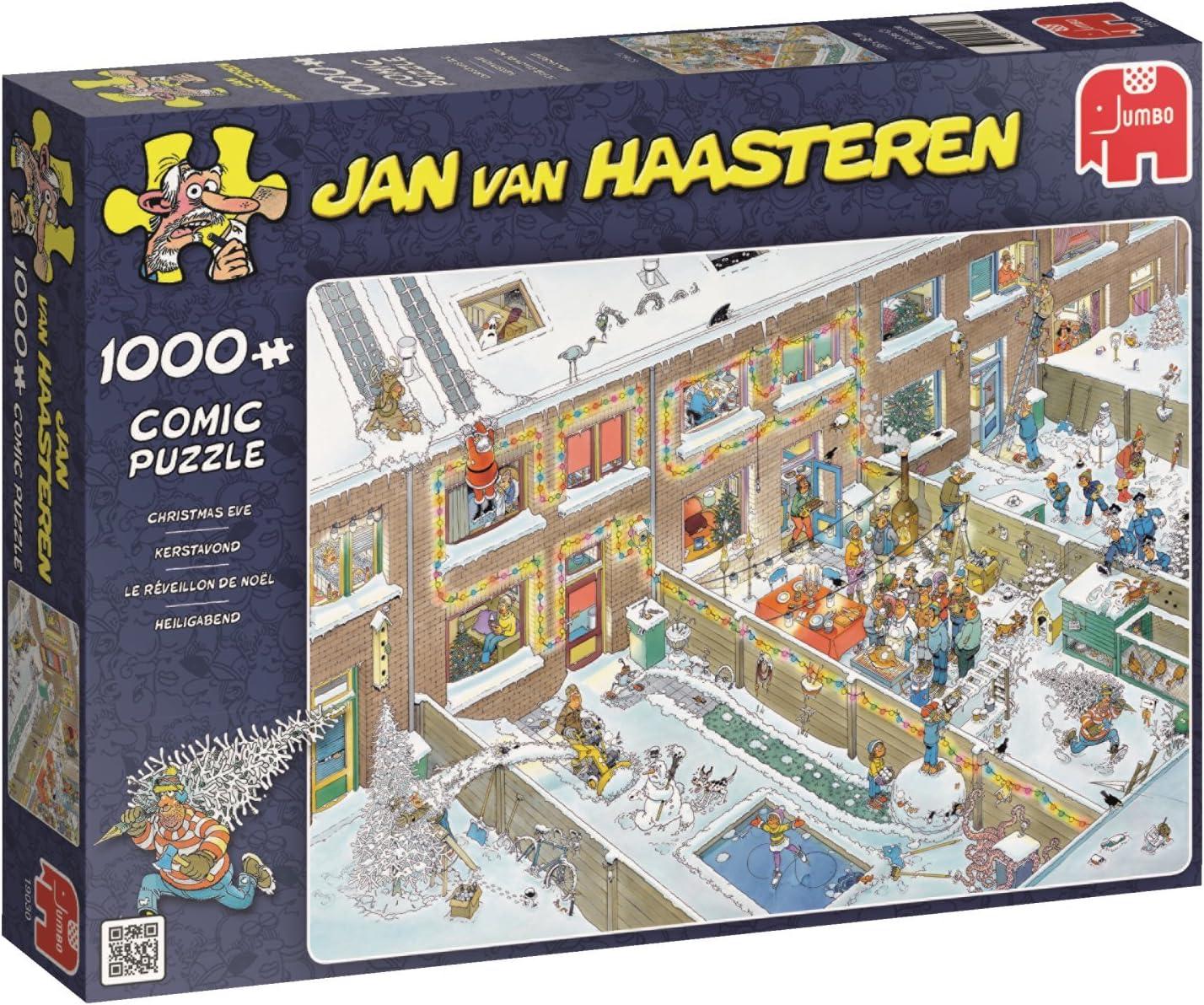 Jumbo Jan Van Haasteren Christmas Eve Jigsaw Puzzle (1000 Piece)