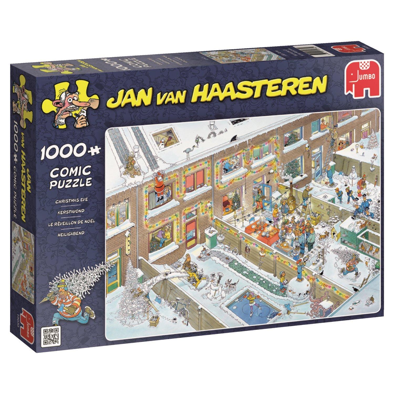 Jumbo - 19030 -  Sera Di Natale - 1000 Pezzi Jan Van Haasteren
