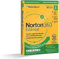 Norton 360 Estándar 2021 - Antivirus software para 1 Dispositivo y 1 año de suscripción con renovación automática…