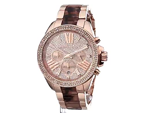 3d56d8355c1e Amazon.com  Michael Kors Women s Wren Two-Tone Watch MK6159  Michael Kors   Watches