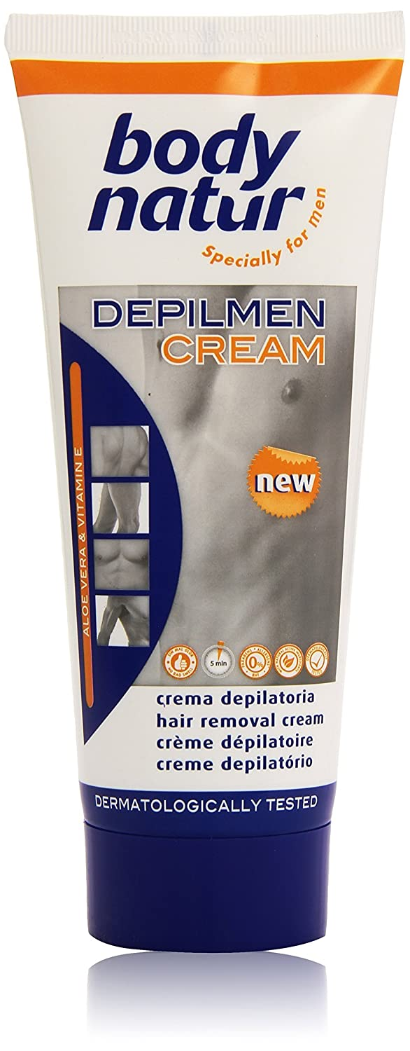 Body Natur Depilmen - Crema depilatoria, 200 ml: Amazon.es: Salud y cuidado personal