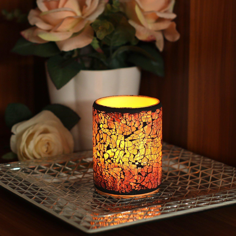81Vz3PMh4UL._SL1500_ Stilvolle Warum Flackern Kerzen Im Glas Dekorationen