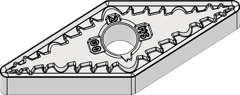 0.016 // 0.4mm Radius Carbide Grade WS10PT WIDIA VNMG431MS WS10PT Victory VNMG-MS High Performance Turning Inserts Medium High-Temp