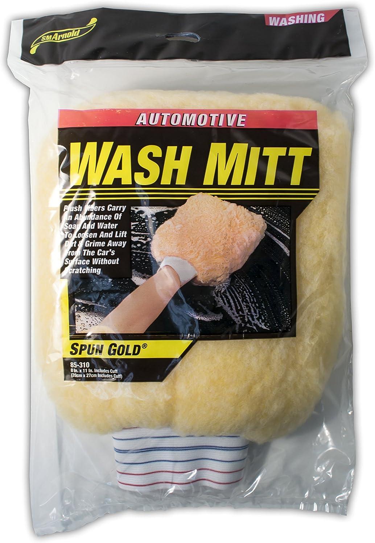 SM Arnold Car Wash Mitt 85-310 8 in. x 11 in.