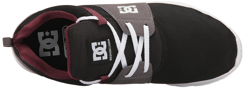 DC Men's Heathrow Casual Skate Shoe B01LAEFT1E 7.5 D(M) US|Armor/Oxblood