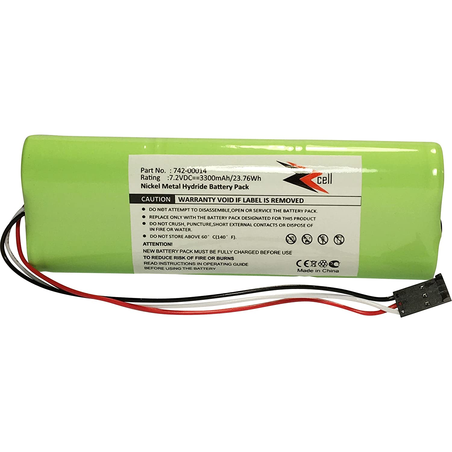 ZZcell Battery for Applied Instruments SuperBuddy 21, Super Buddy 29 Satellite Signal Meter 742-00014 3300mAh