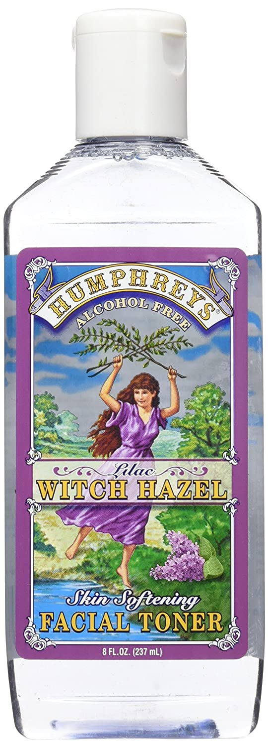 2 Pack - Humphreys Witch Hazel Skin Softening Facial Toner, Lilac 8 oz JAS Super Hydrating Mask 16-ounce