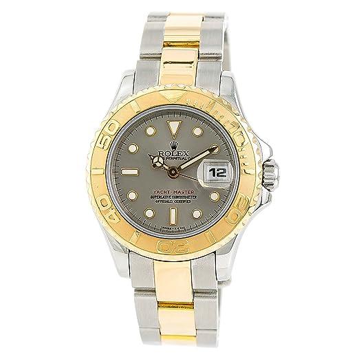Rolex Yacht-Master 69623 - Reloj de pulsera para mujer (certificado de autenticidad)