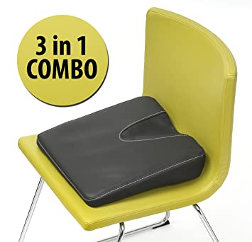 Exceptionnel Stability Seat Wedge Cushion. Balance Ball, Coccyx Cushion And Seat Wedge  Combined. Made