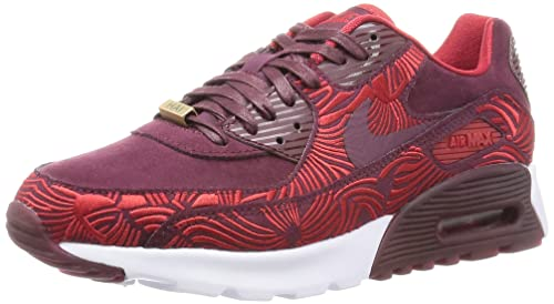 timeless design 3f31b d907b Nike Women W Air Max 90 Ultra Lotc Qs Shanghai (Maroon Night Maroon