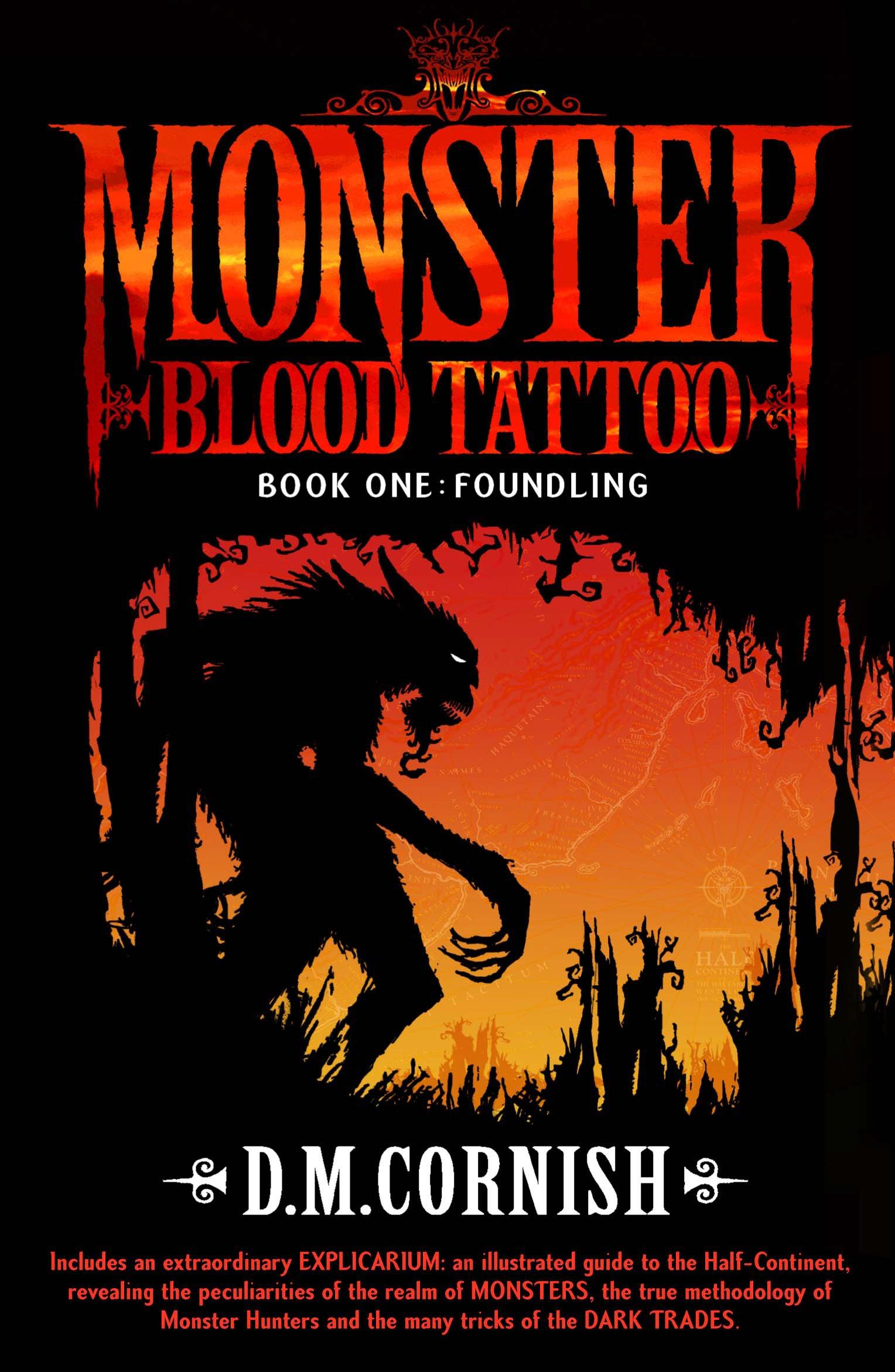 Monster Blood Tattoo Foundling Book One Cornish D M 9780552574860 Amazon Com Books