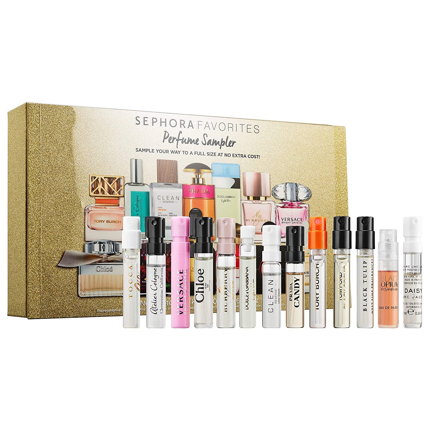 NIB Holiday Perfume Sampler 2019 With Free Sample!!