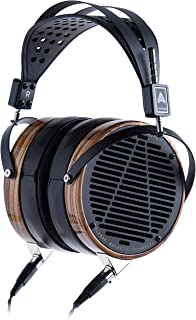 product image for Audeze LCD-3 Over Ear Open Back Headphone Zebrano Wood Rings with New Suspension Headband