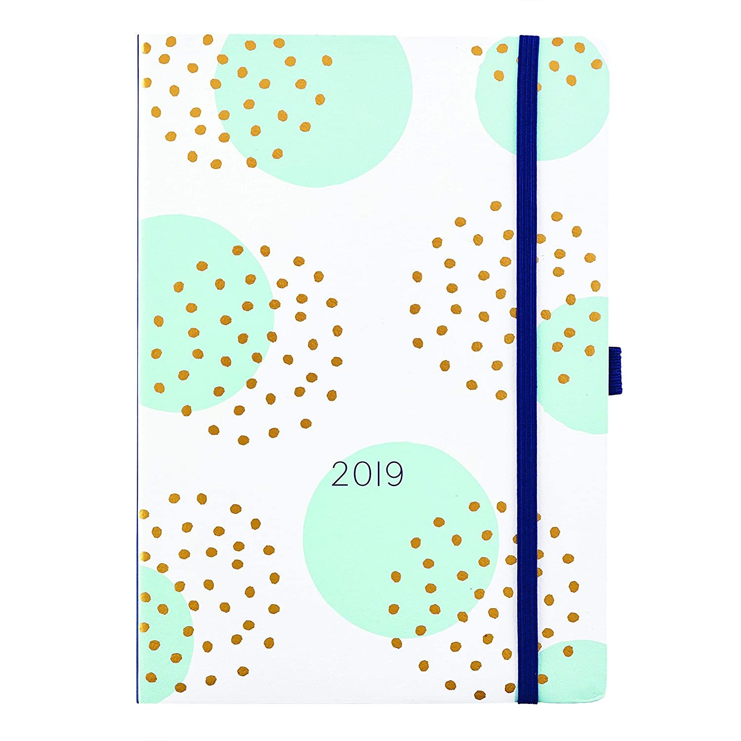 Busy B 2019 Day A Page Diary - Day-to-View Agenda with Year Planner and Notes