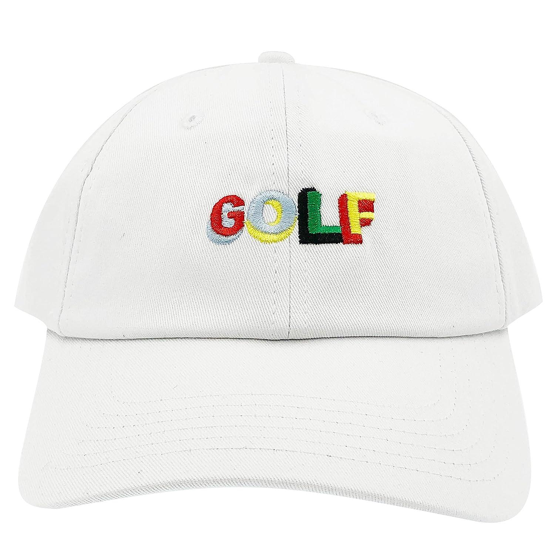 Golf Wang Cherry Bomb Baseball Dad Hat Cap Bastard Snapback Wolf Men Panel ( Golf Pro White) at Amazon Men s Clothing store  6d8c3666448