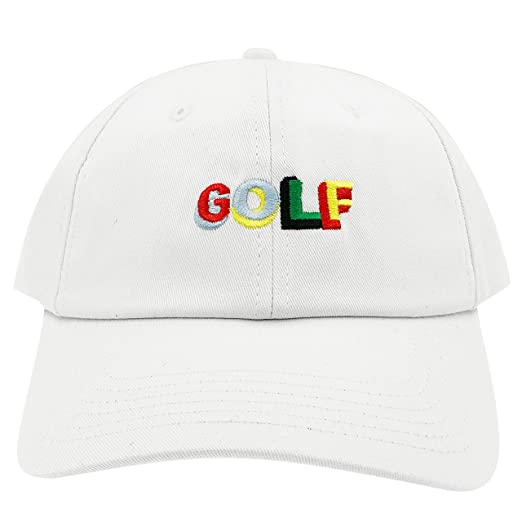 e5455cc9a5b Golf Wang Cherry Bomb Baseball Dad Hat Cap Bastard Snapback Wolf Men Panel  (Golf Pro