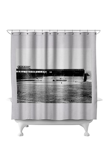 Fenway Park Boston Red Sox Baseball Photo 1 71x74 Polyester Shower Curtain