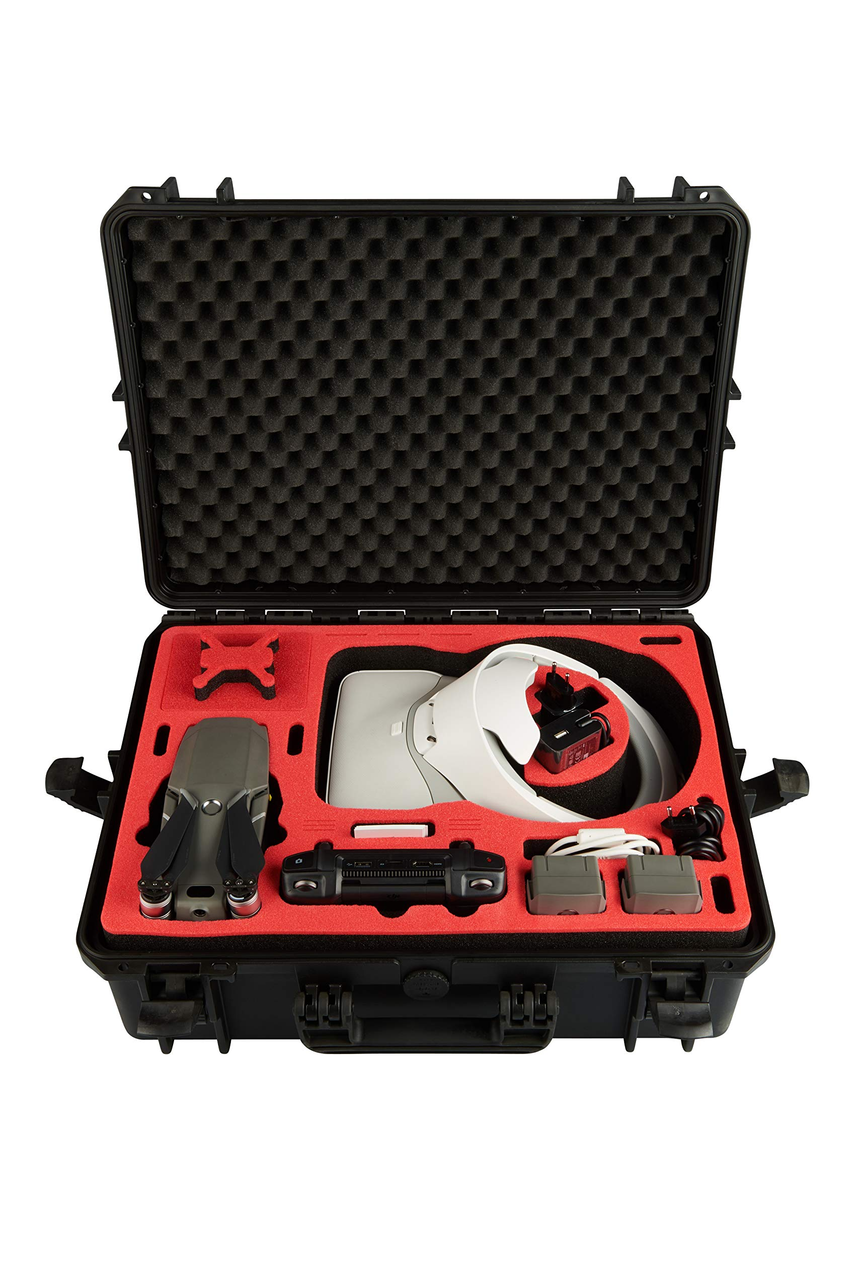 Professional Carrying Case for DJI Mavic 2 Pro & Zoom and DJI Goggles and Additional Equipment Like The New DJI Smart Controller