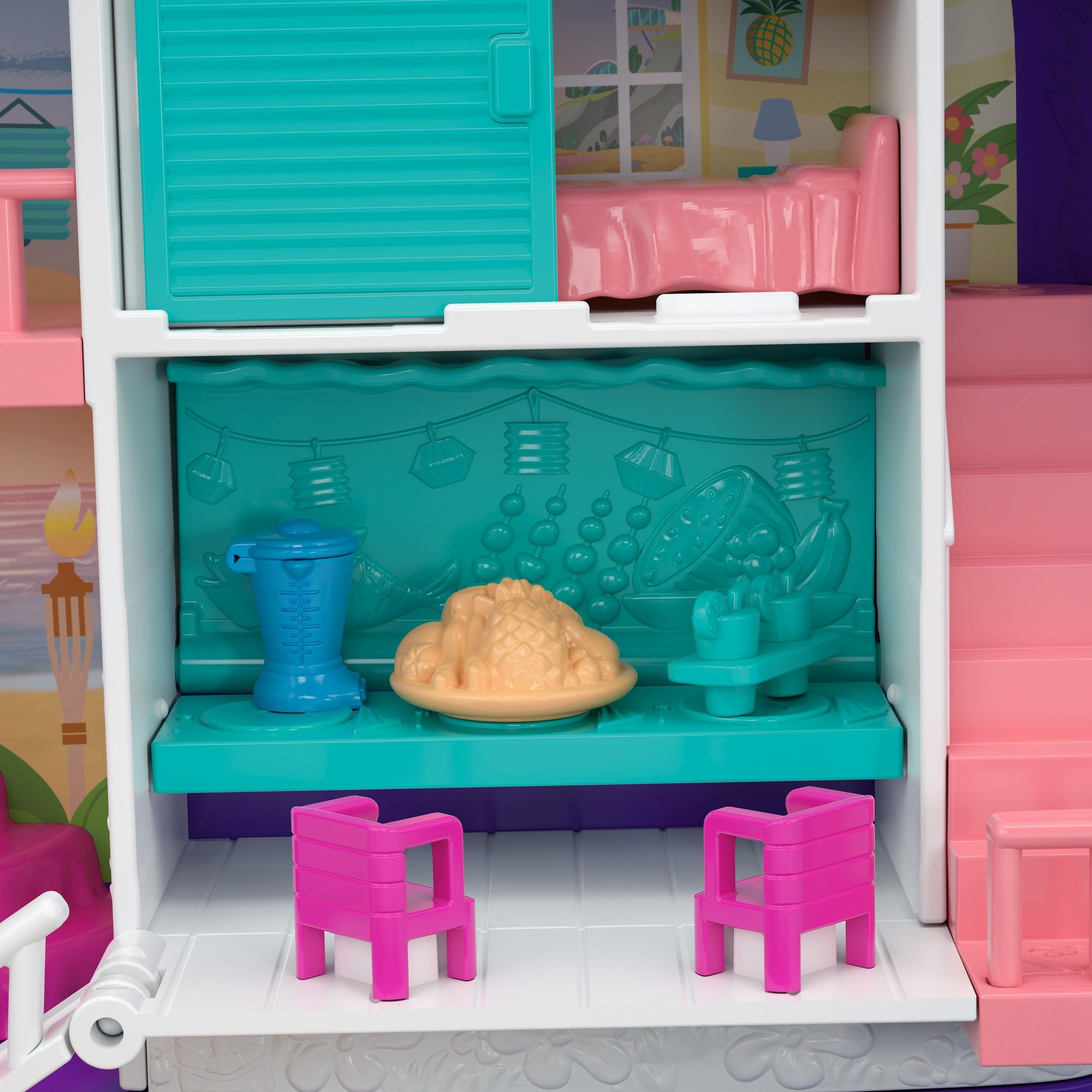 Polly Pocket Beach Vibes Figure, Multicolor by Polly Pocket (Image #6)