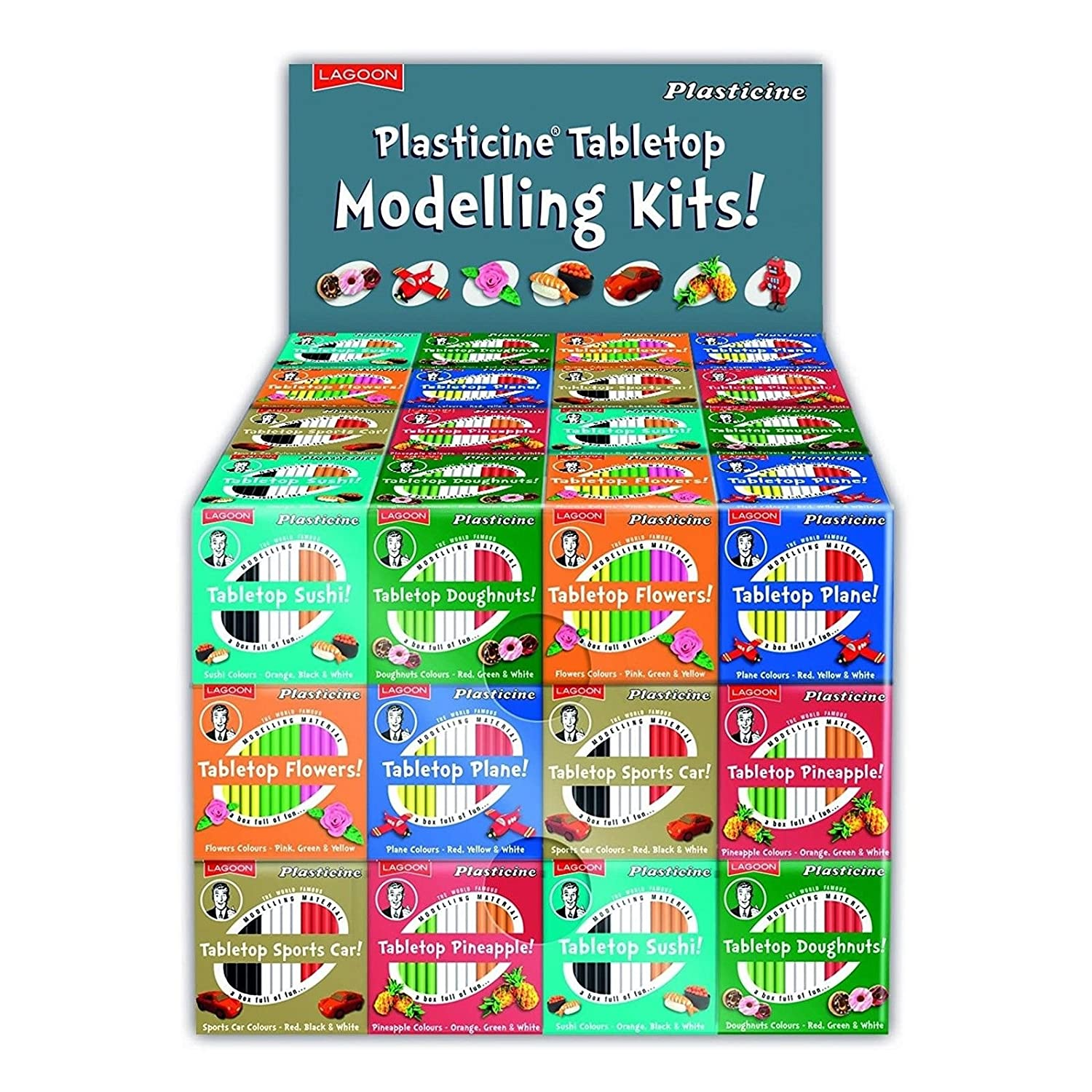 Lagoon - Plasticine Modelling Kits - Choose From Various Types (Sports Car)