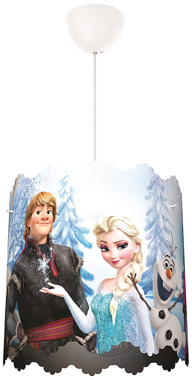Philips Disney Frozen Lampshade Children's Ceiling Pendant Lightshade, Blue 915005088401
