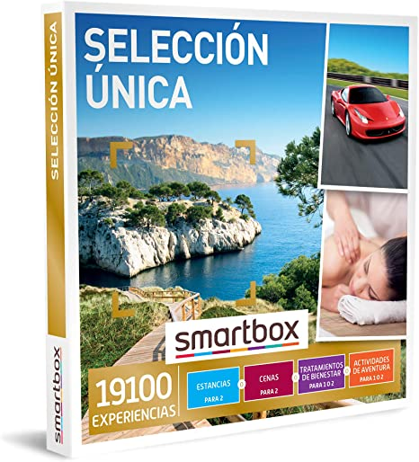 SMARTBOX - Caja Regalo - Selección única - Idea de Regalo - 1 Experiencia de Estancia, gastronomía, Bienestar o Aventura para 1 o 2 Personas: Amazon.es: Deportes y aire libre