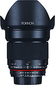Rokinon 16M-S 16mm f/2.0 Aspherical Wide Angle Fixed Lens for Sony Alpha Cameras