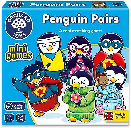 Orchard Toys - Juego de 2 Pares de pingüinos: Amazon.es: Juguetes ...