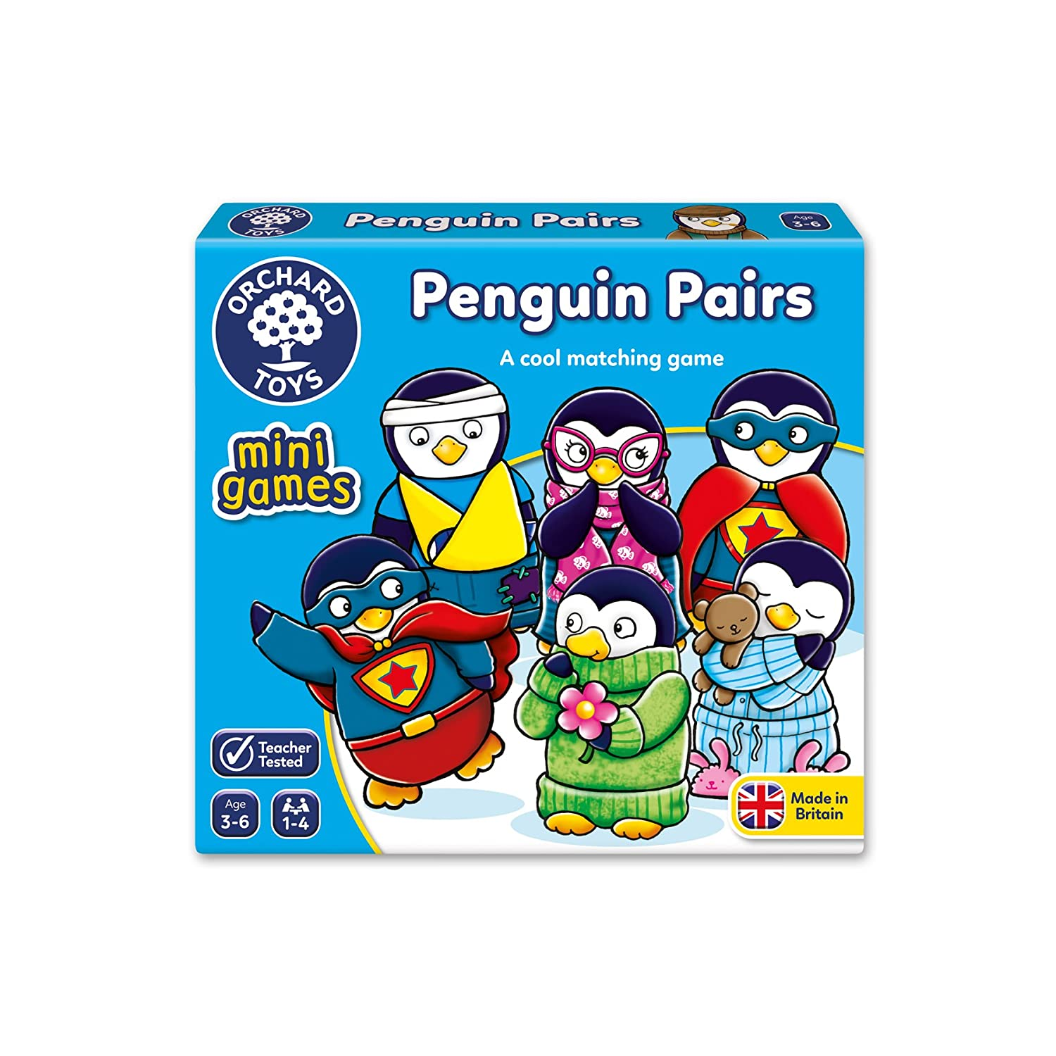 Orchard Toys Penguin Pairs Mini Game 351