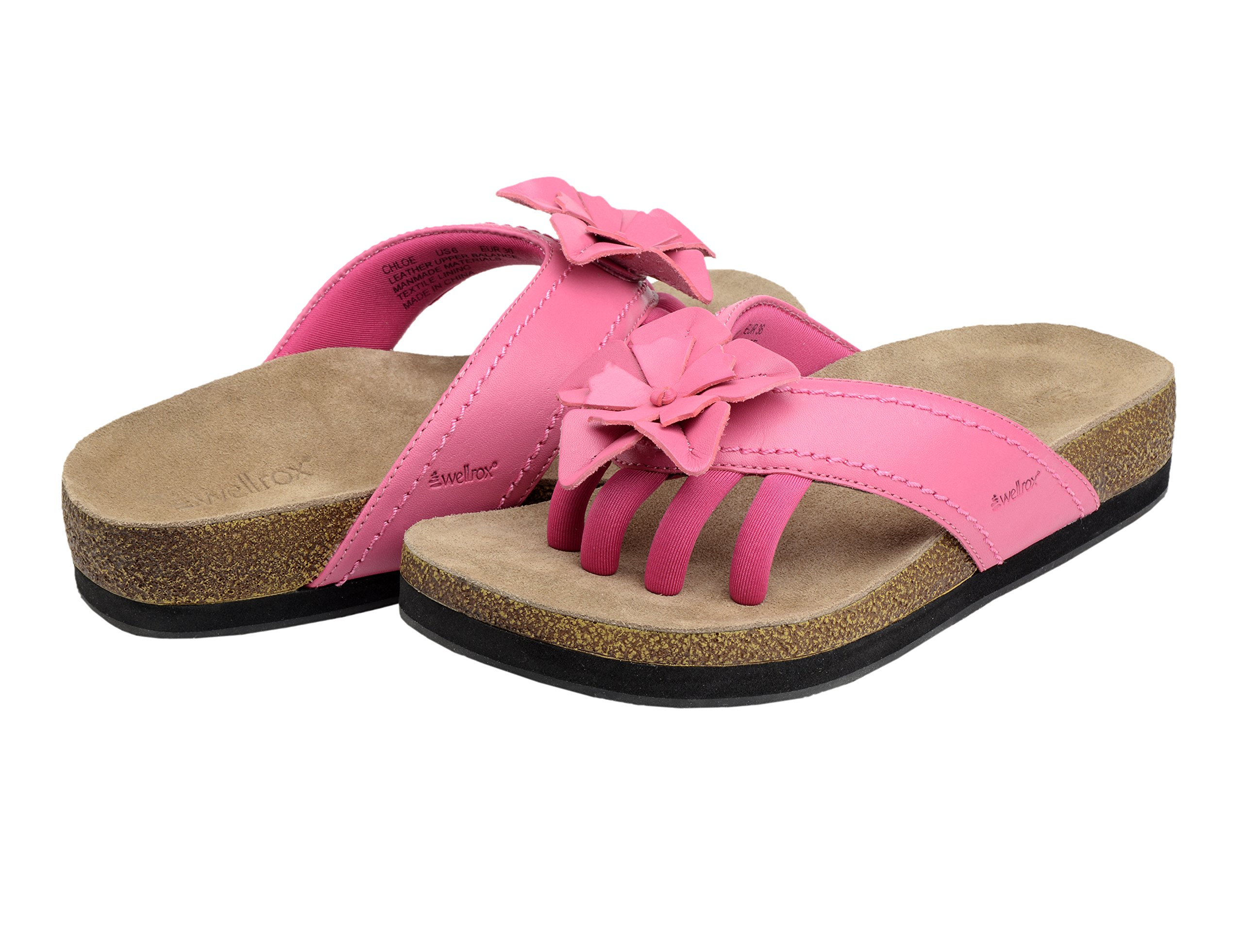 Wellrox Women's Terra-Chloe Hot Pink Casual Sandal 11 by Wellrox (Image #6)