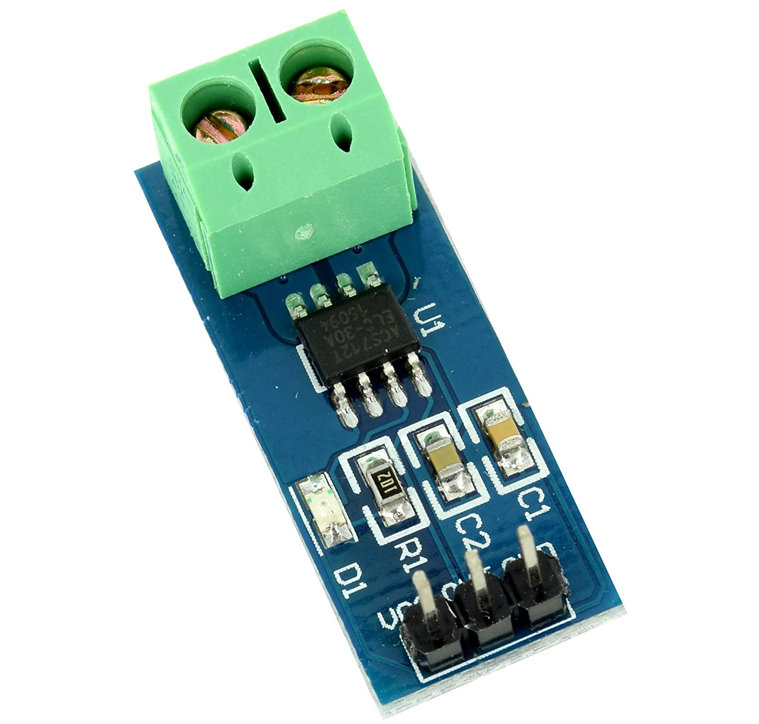 Hall Effect Current Sensor Acs712 Module 20a For Speed Detection Circuit Timing Sensing And Proximity