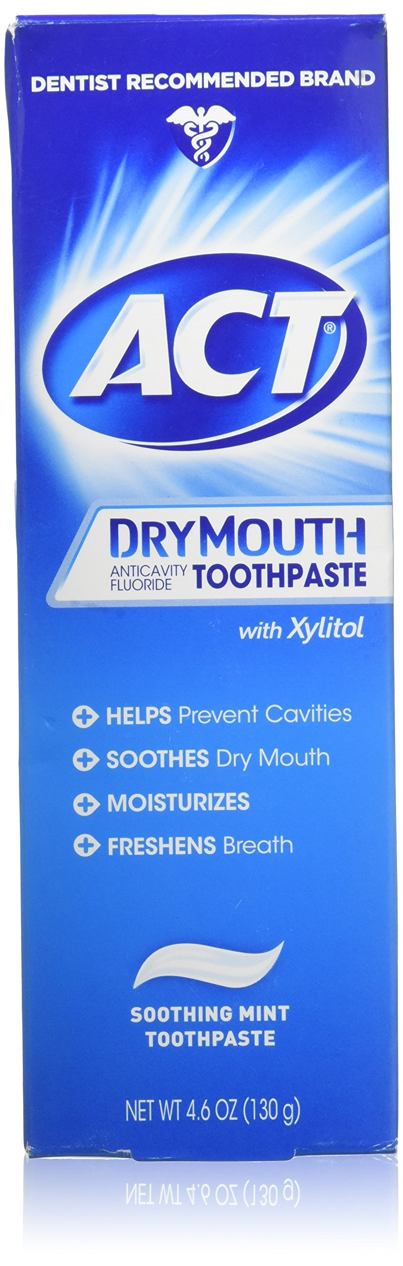 Act Toothpaste Dry Mouth Size 4.6 (Pack of 2)
