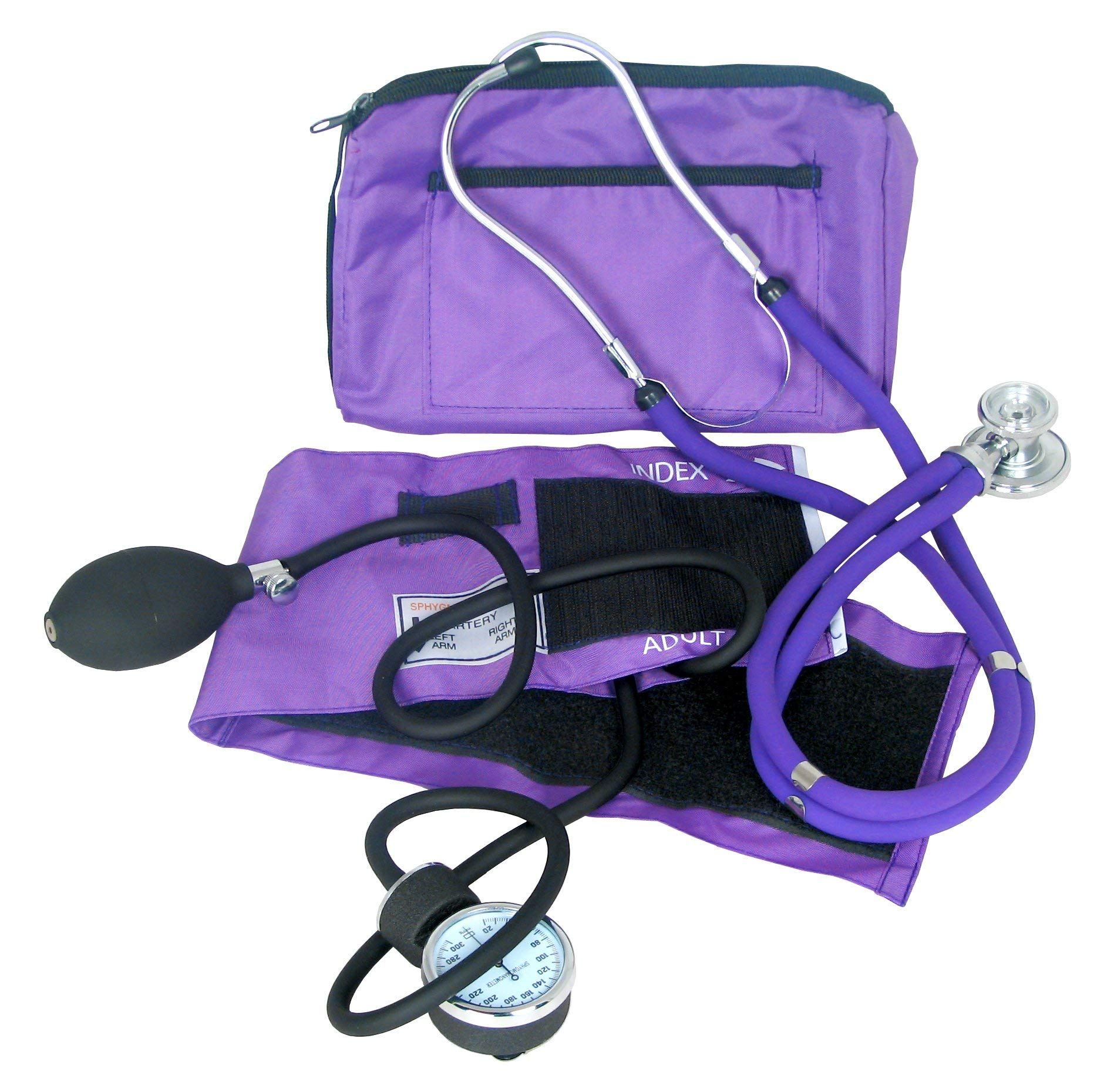 Dixie Ems Purple Blood Pressure and Sprague Stethoscope Kit by Dixie Ems