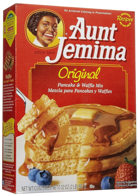 Aunt Jemima Pancake Mix, 32 oz, Pack of 6