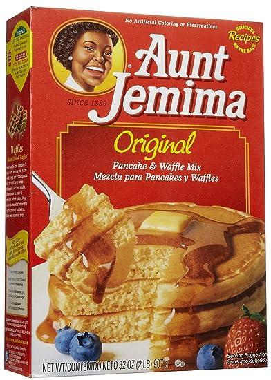 Amazon aunt jemima pancake mix 32 oz grocery gourmet food aunt jemima pancake mix 32 oz ccuart Choice Image