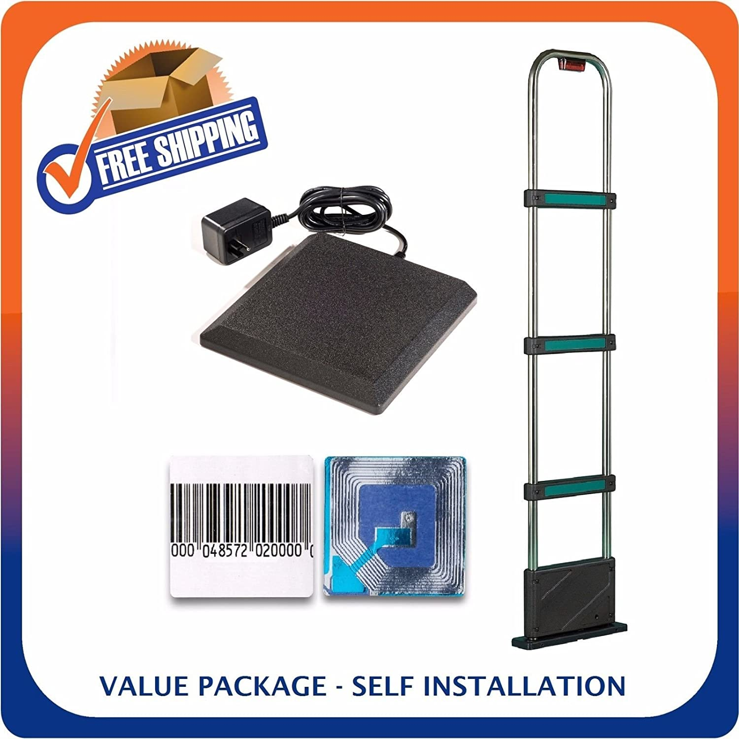 Retail Security Value Pack Including Tower + Deactivator + Soft Labels - EAS Loss Prevention - MADE IN USA Sensornation