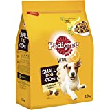 Pedigree Dry Dog Food Small With Chicken 2 7kg Pack Of 3 Amazon Co