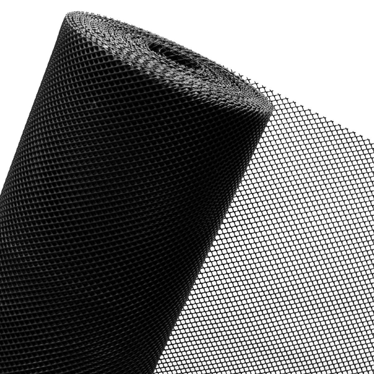 Novmax - Rete in plastica per recinzioni, 1,2 m, maglie da 7 mm, insonorizzante, vendita al metro