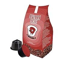 96 capsule compatibili Nescafe Dolce Gusto - Miscela Espresso Forte - Capsulissima