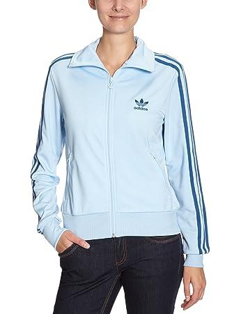40dc461850d7b adidas Firebird Women's Tracksuit Top blue altutude/lone blue Size ...