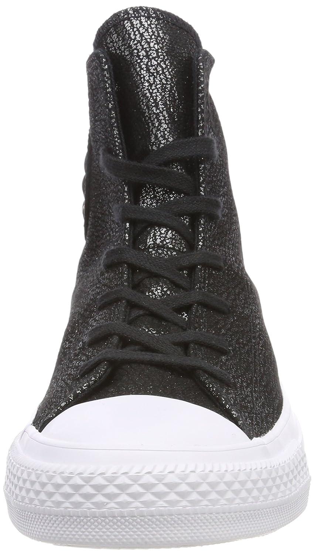 Converse Damen CTAS Hi Fitnessschuhe 001) Schwarz (schwarz/Silver/Weiß 001) Fitnessschuhe 81404e