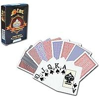 Star %100 Plastik Jumbo Index Playing Card Oyun Kağıdı