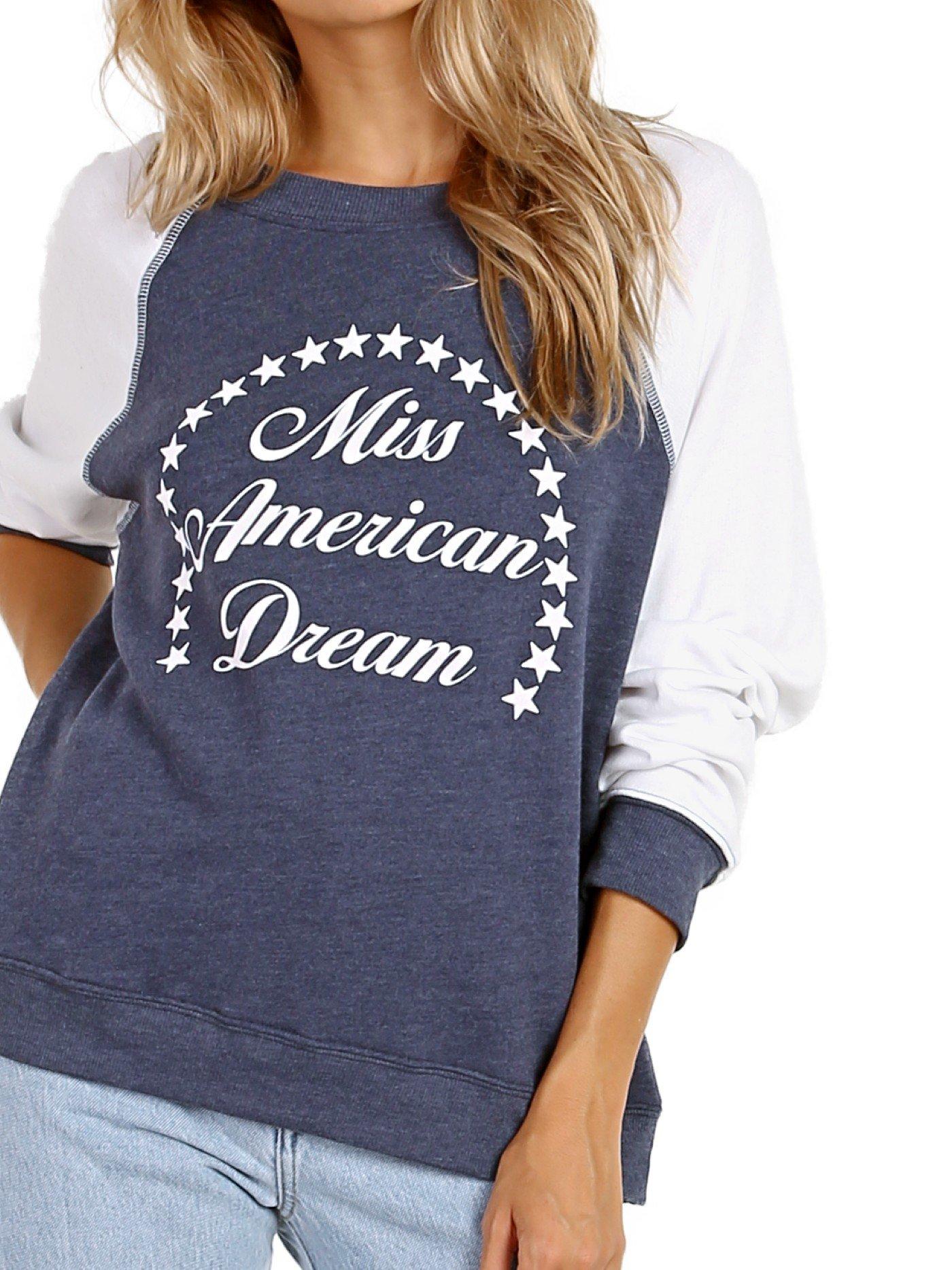 WILDFOX Miss American Dream Summer Sweater Midnight