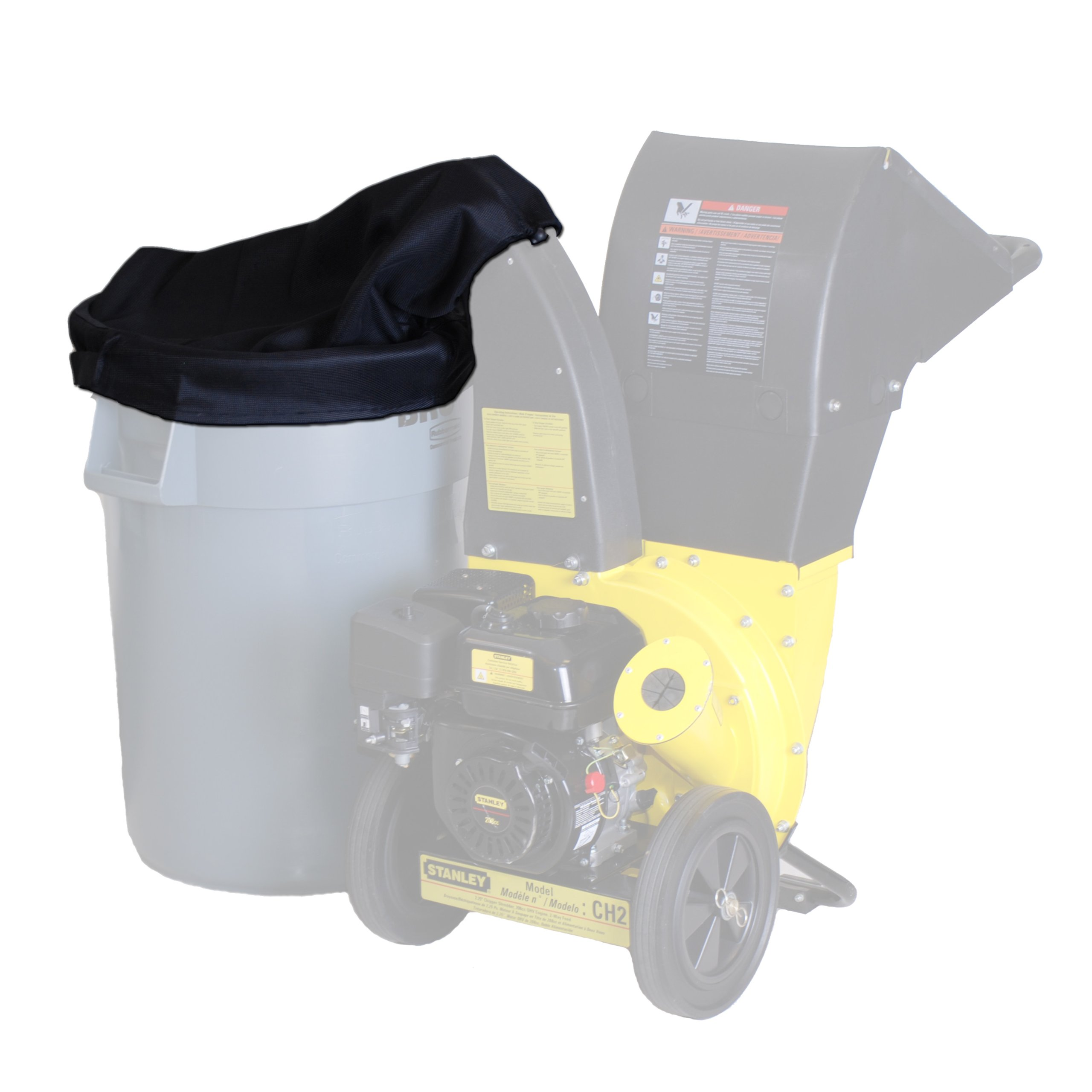 DEK CHBAGA Chipper Shredder Collection with Adapter