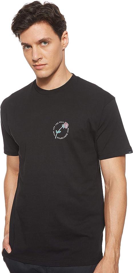 vans maglietta nera