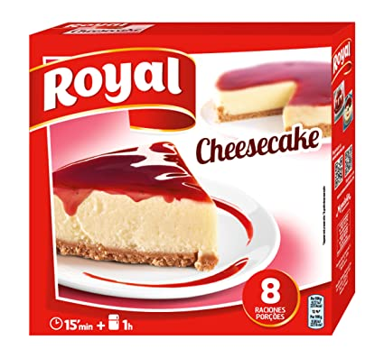 Royal Masa de Tarta de Queso - 325 gr