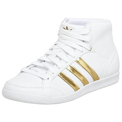 best sneakers 484d4 03ced Adidas Originals Womens Adi Hoop Mid Sneaker,WhiteGoldGum ...
